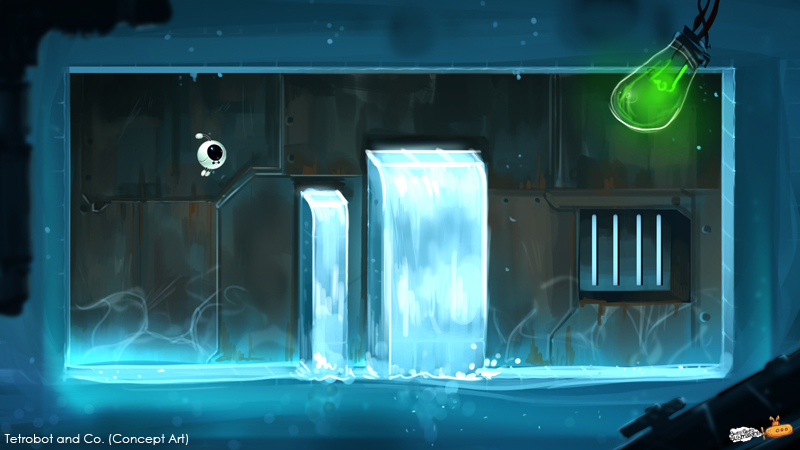Tetrobot and Co. (concept art)