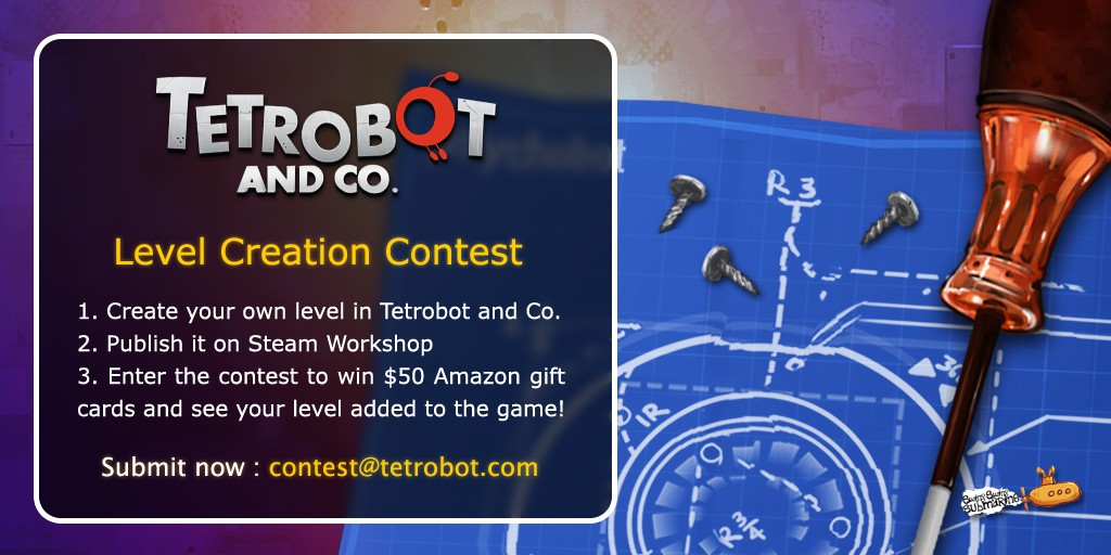 Tetrobot and Co. Level  Creation Contest